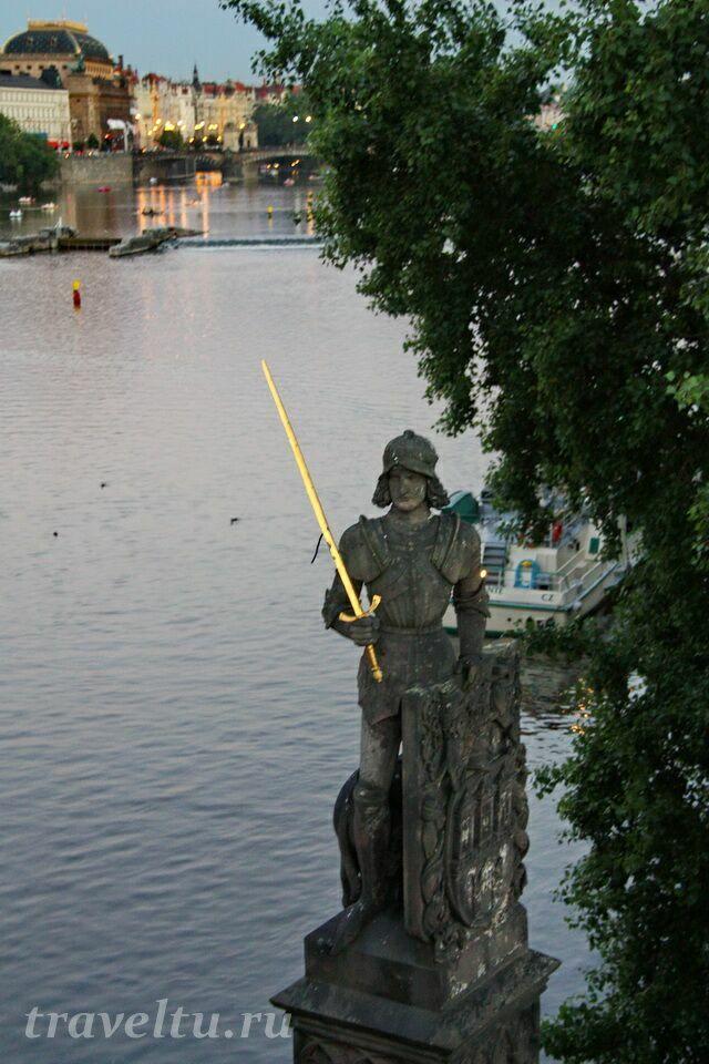 Скульптура рыцаря Брунцвик
