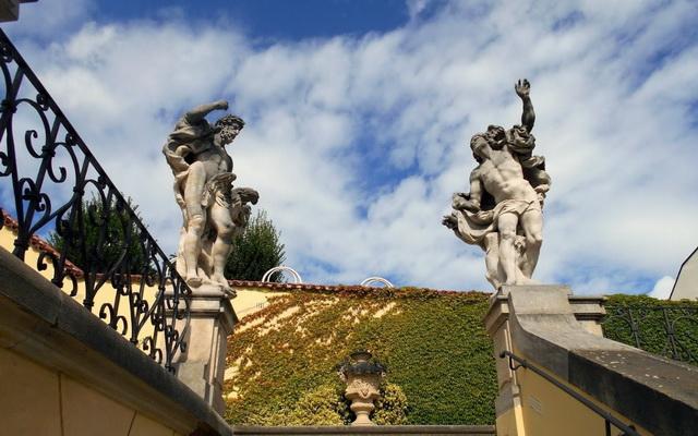 Скульптуры Вртбовский сад