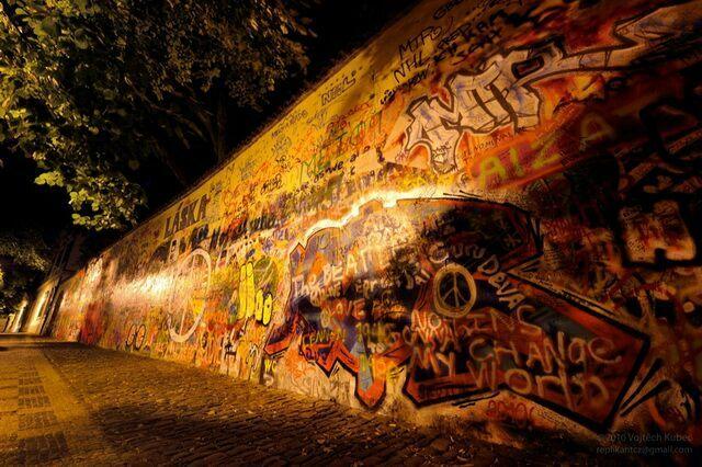 Стена Джонна Леннона остров кампа