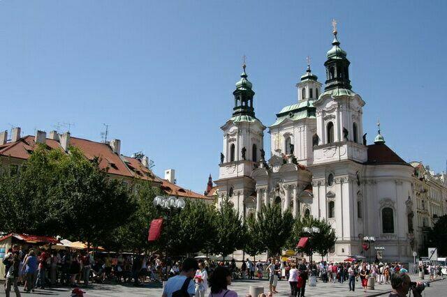 Церковь святого Никалая Прага