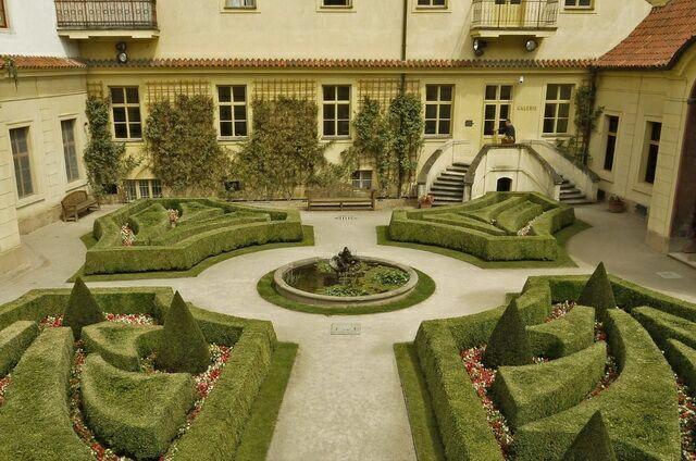 Терраса Вртбовский сад