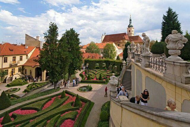Врбовский сад в Праге