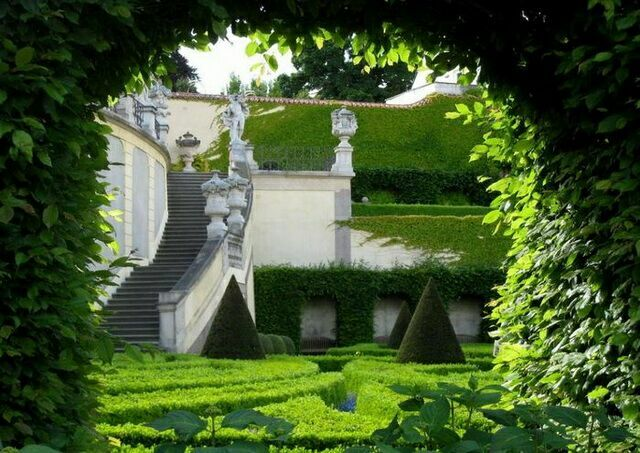 Вртбовский сад Прага