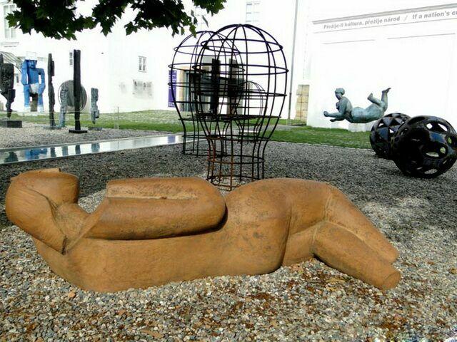 музей кампа скульптуры