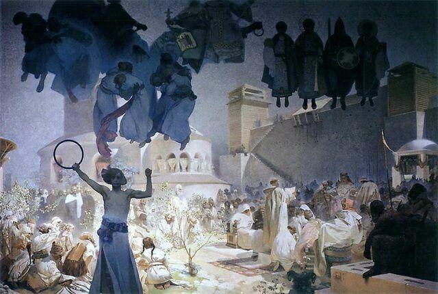 Альфонс-Муха.-Введение-славянской-литургии