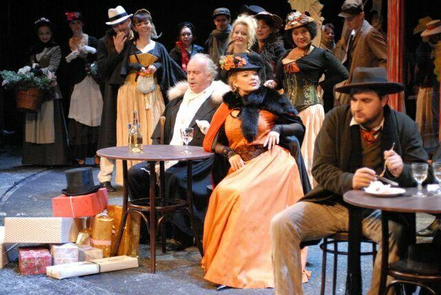 Богема Национальный театр