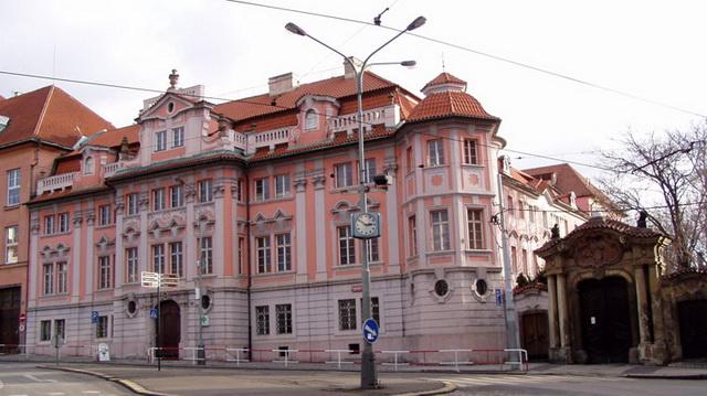 Дом Фауста Прага