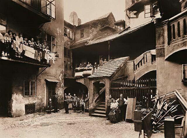 Еврейский квартал в прошлом
