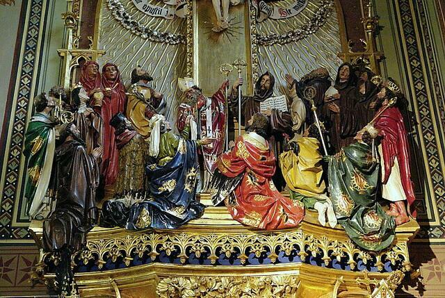 Фигуры базилика Петра и Павла