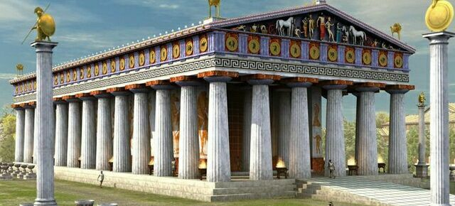 Храм Зевса в Олимпии mini