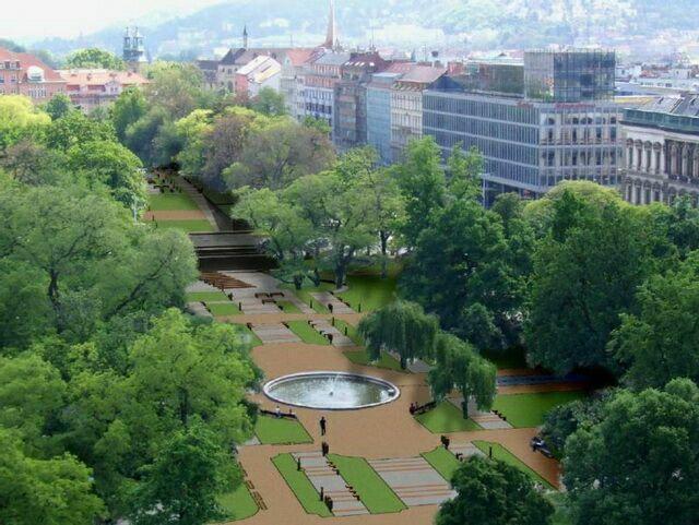 Карлова площадь парк