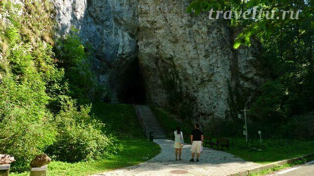 Катержинские пещеры Моравский крас