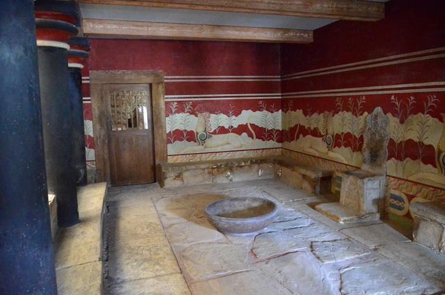 Кносский дворец 4