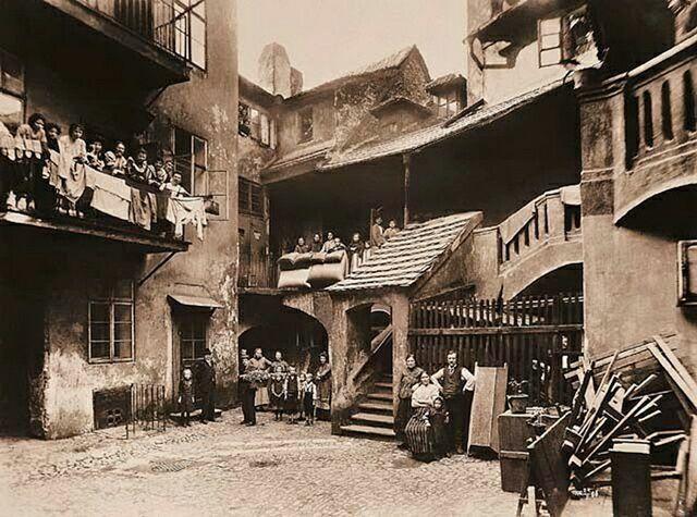 Квартал Йозефов, историческое фото