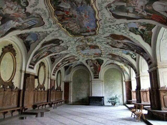 Монастырь Тепла барокко