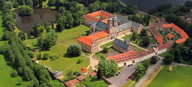 Монстырь Тепла в Чехии