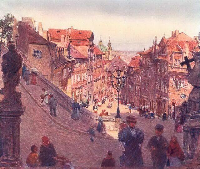 Нерудова улица картинка