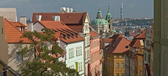 Нерудова улица в Праге