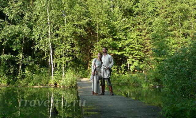 Пара на озере