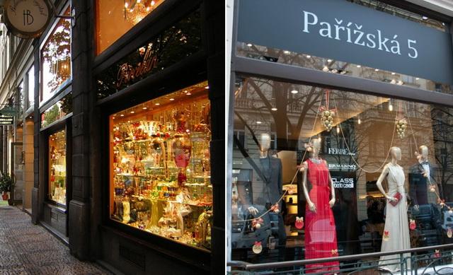 Парижская улица в Праге