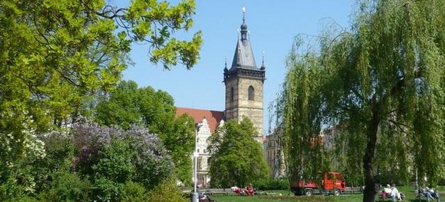Прага Новоместская ратуша
