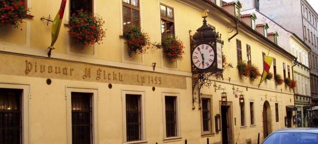 Прага Пивная У Флеку