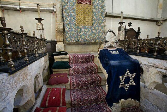 Прага Староновая синагога
