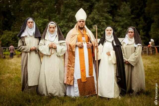 Представители святой церкви