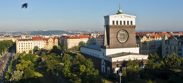 Район Вионграды в Праге