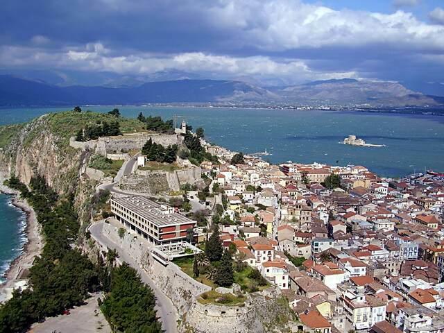 Вид старого города