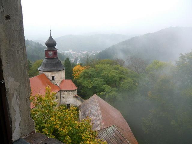 Замок Пернштейн легенда