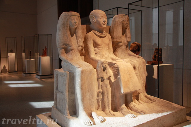 Скульптуры египтян