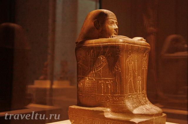 Древнеегипетская поза размышления