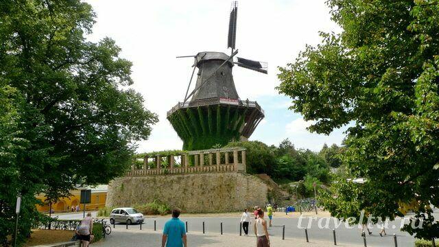 Историческая мельница