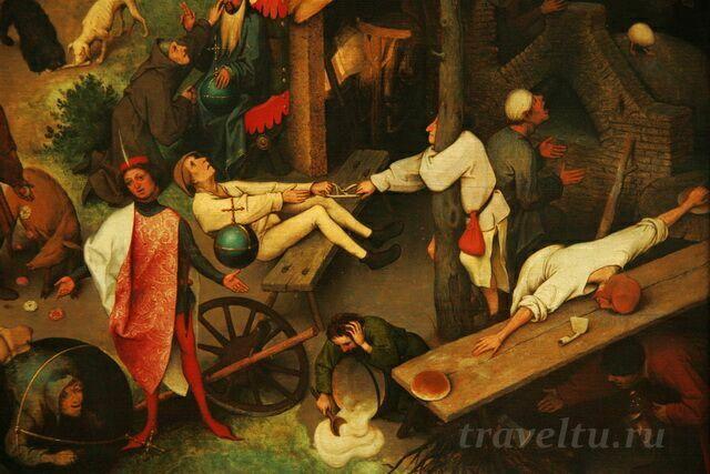 Питер Брейглеь, фрагмент картины