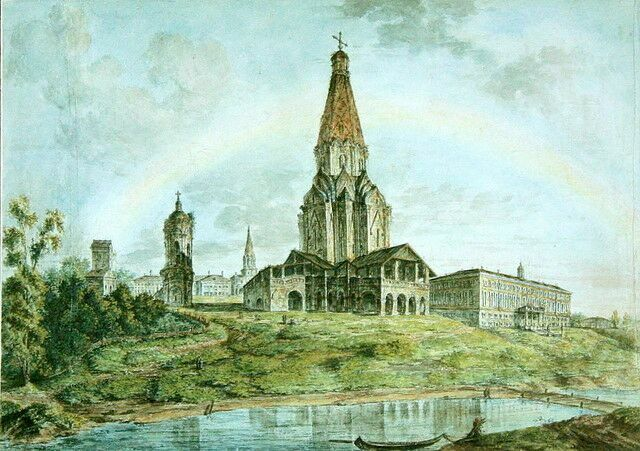 Федор Алексеев. Коломенский дворец в XVII в.
