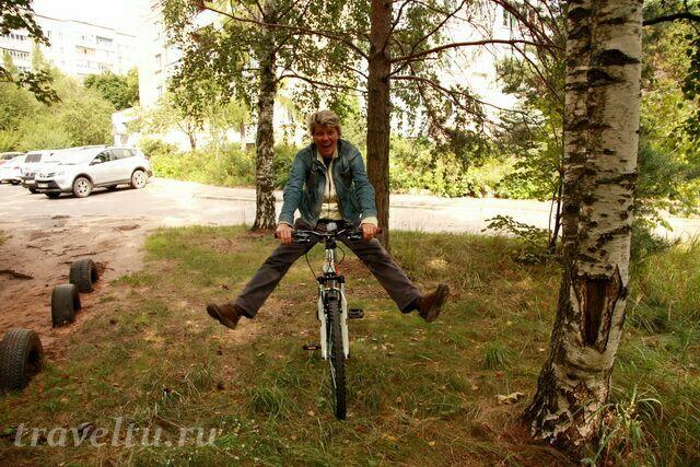 На велосипеде по Дубне