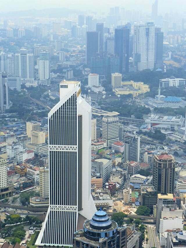 Башня Maybank в Куала-Лумпур