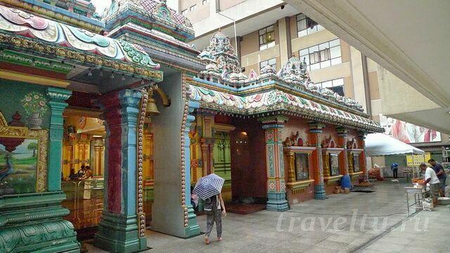 Индуистский храм в Куала-Лумпуре