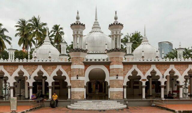 Мечеть Джамек в Куала-Лумпуре