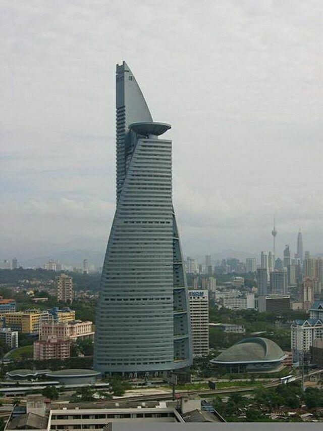 Menara telekom в Куала-Лумпур
