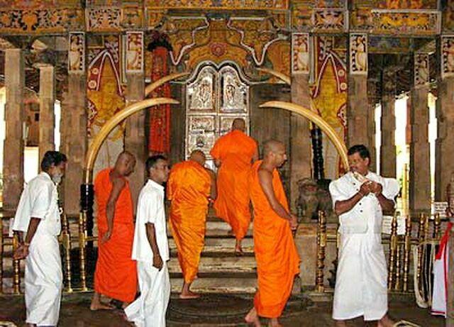 Охрана комнаты с зубом Будды