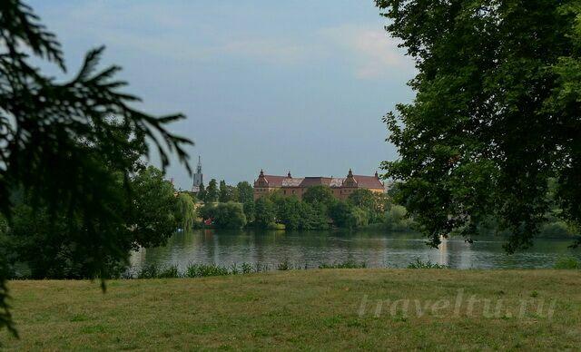 Озеро в Новом парке