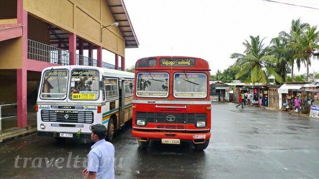 Автовокзал в Тринкомали
