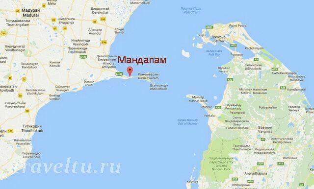 Деревня Мандапам