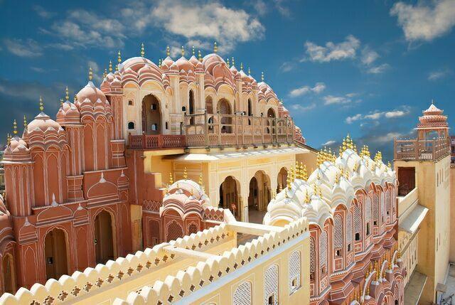 Hawa-Mahal - дворец Ветров