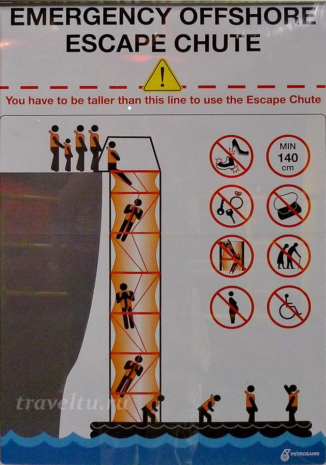 Инструкция к спуску по трубе