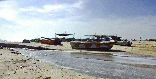 Лодки в деревне