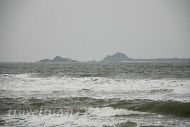Море и остров Педжеон. Не сезон
