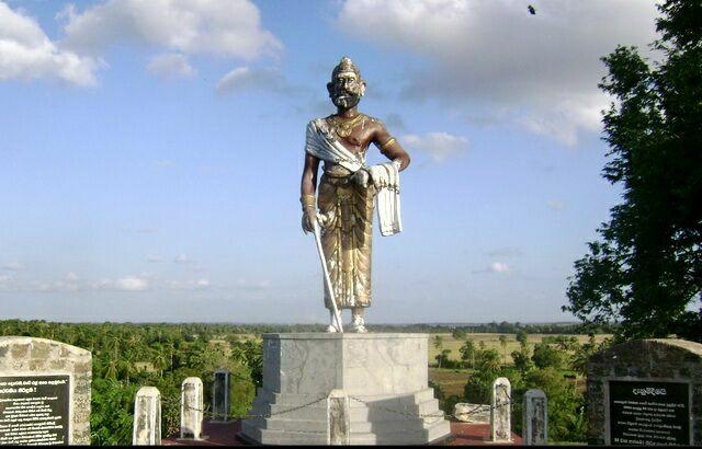 Статуя Короля Агбо